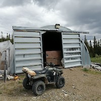 Quonset Hut - Core Storage Building at Silver Hart